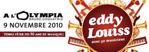 Concert Eddy Louiss Olympia 9 novembre 2010