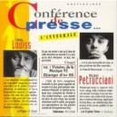 Pochette de l'album Conférence de presse / vol.1 et vol.2